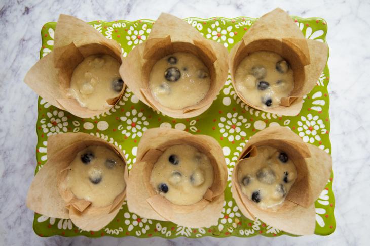 Passagem Gastronômica - Receita de Muffins de Mirtilo