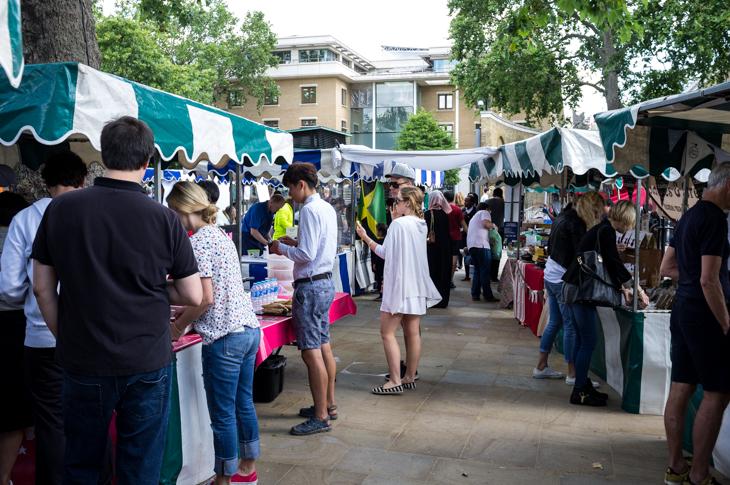 Passagem Gastronômica - Chelsea Food Market - Londres