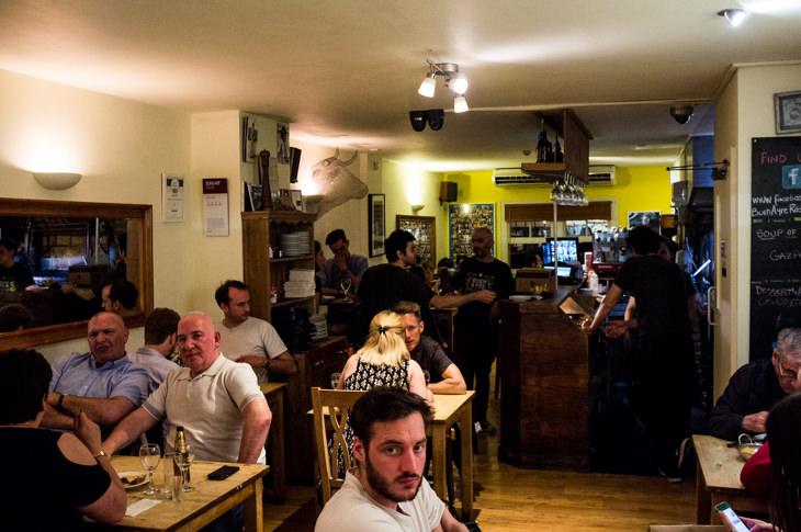 Passagem Gastronômica - Restaurante Buen Ayre - Londres
