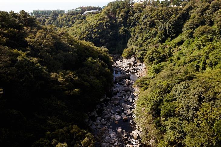 Passagem Gastronômica - Roteiro de Jeju - Cheonjiyeon Falls