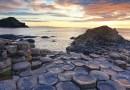 Giant's Causeway (Calçada dos Gigantes) na Irlanda do Norte