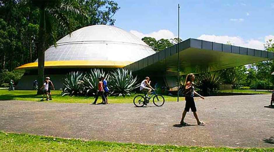 Planetário Foto: Divulgação ParquedoIbirapuera.org