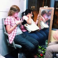 Espejismo  by Paula Jarrin barcelona, bus, espejo, igersbcn, igerscatalunya, instagramers, iphoneonly, iphonesia, mirall, mirror, passengers, tmb, ubiquography, vscam,