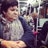 Nowhere  by Paula Jarrin barcelona, bus, igerbcn, igerscatalunya, instagramers, iphoneonly, iphonesia, passengers, streetphotography, ubiquography, woman,
