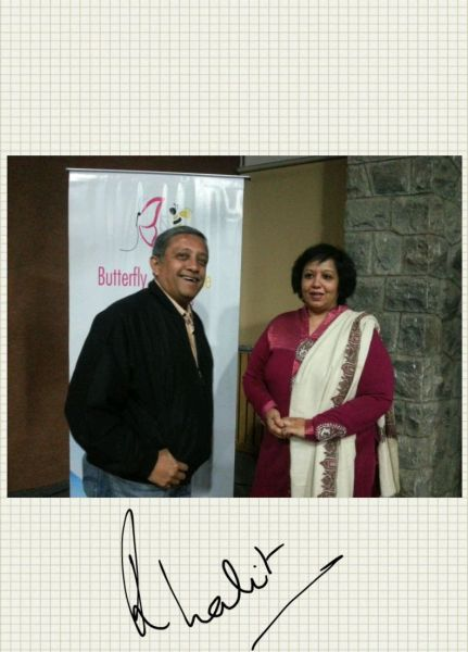 With Ritu Lalit who agreed that the Note 2 was really incredible!