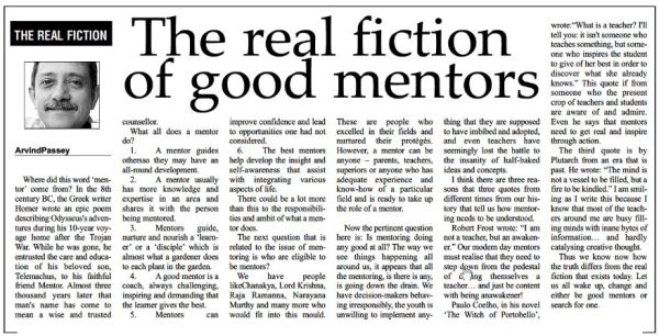 2013_02_04_The Real Fiction of Good Mentors