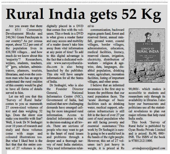 2013_02_23_Book Review_Survey of Rural India_The Education Post
