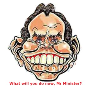 What will you do now, Mr Minister