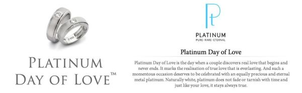 Platinum Day of Love -- THE CONTEST