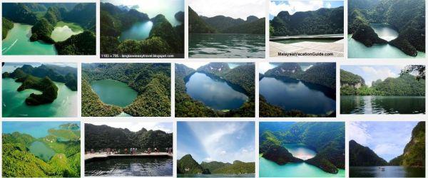 Dayang Bunting Lake or 'Tasik Dayang Bunting', Langkawi, in Kedah. Pic credit: Google search.