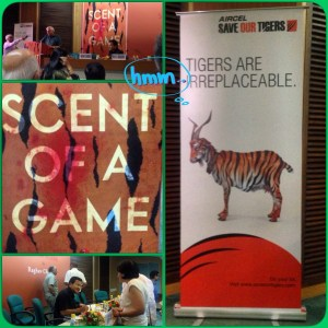 Scent of a game... a book by Raghav Chandra