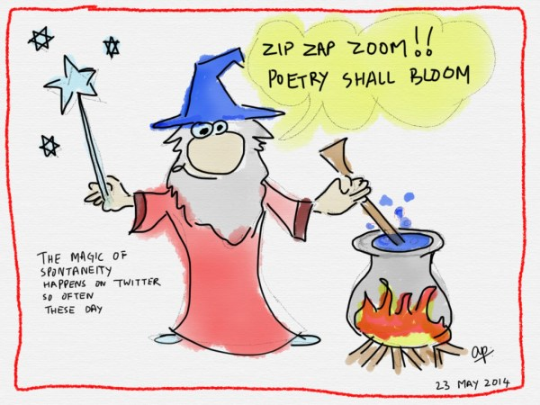 Twitter has produced a lot of spontaneous poetry wizards!