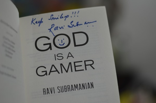 'God is a Gamer'... thriller from Penguin Books India