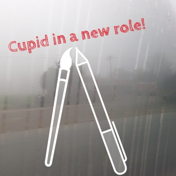 Cupid has joined a fringe group