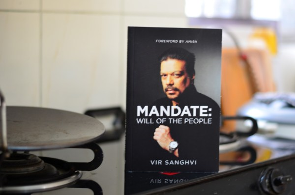 MANDATE: Will of the people... a book on Indian political history by Vir Sanghvi