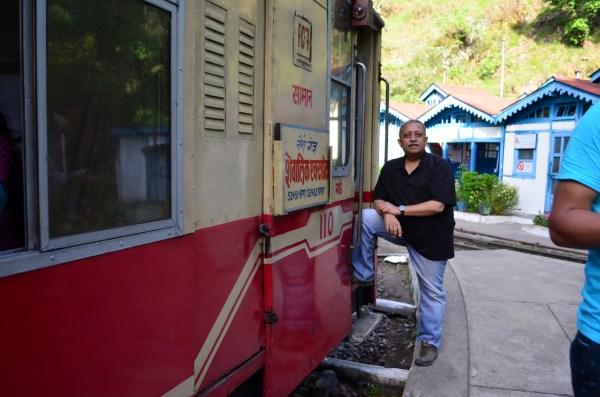 Shivalik Express from Kalka to Shimla... at Barog