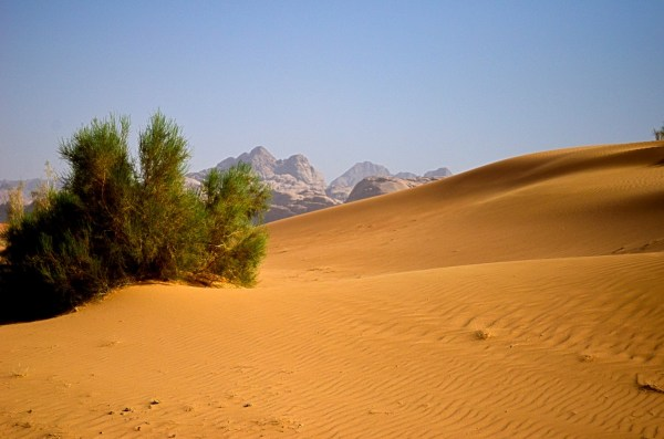 Wadi Rum is where you can fall in love with sand dunes and imagine the adventures that Lawrence of Arabia might have had