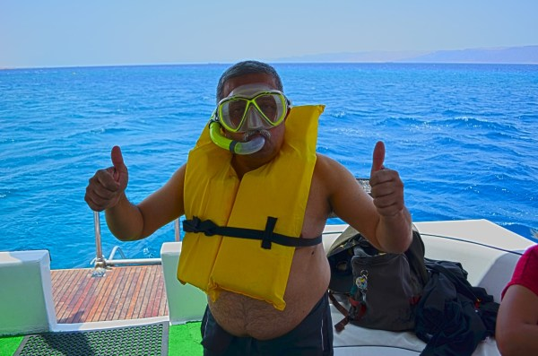 Aqaba, Jordan... snorkeling in the Red sea is fun