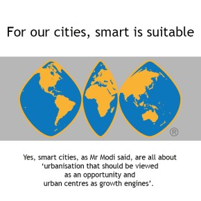 For our cities, smart is suitable