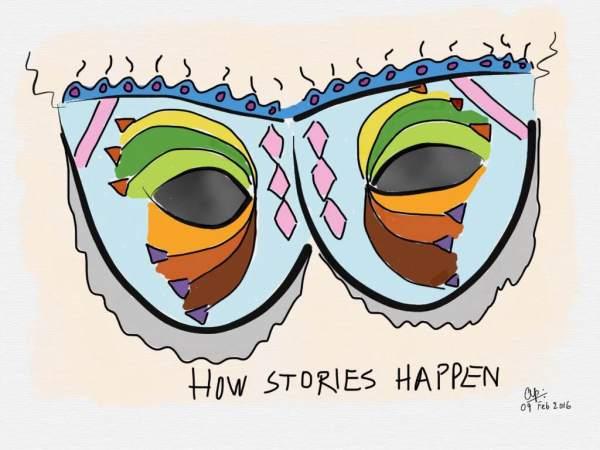 How stories happen...