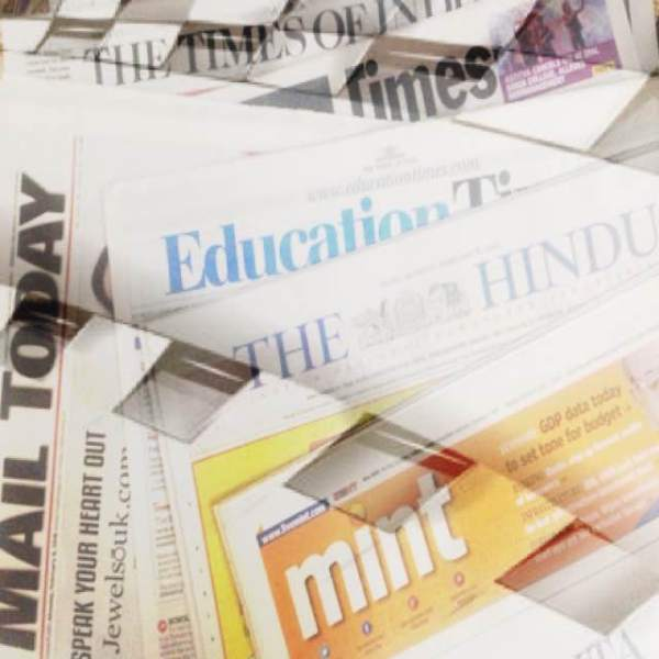 Newspapers are not going away anywhere