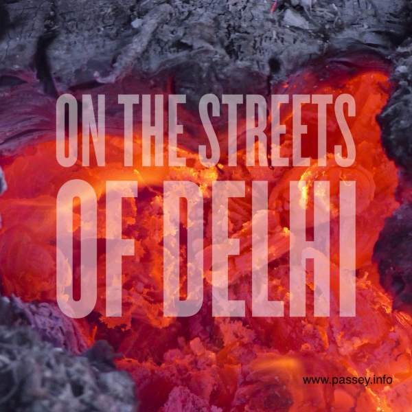 On the streets of Delhi - a poem