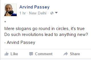 Revolutions and slogans