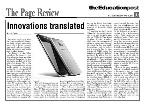 2016_05_16_The Education Post_Galaxy S7 and S7 Edge review