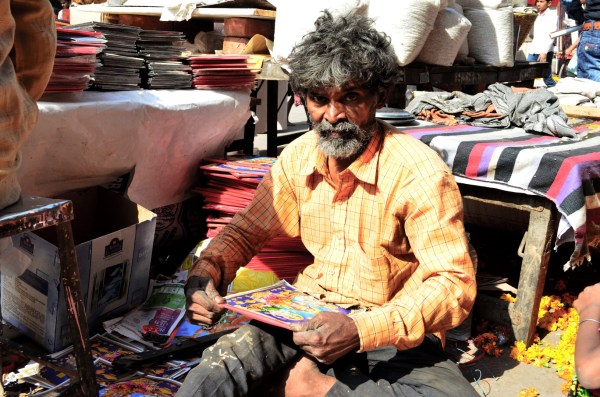 Life in Delhi - jobs depend on the festivals