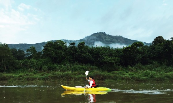 I am participating in the Chaliyar River Challenge activity at AdventureN in association with Jellyfish Watersports.