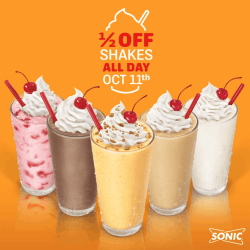 Small Of Sonic Half Price Shakes