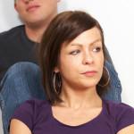 Couple unhappy