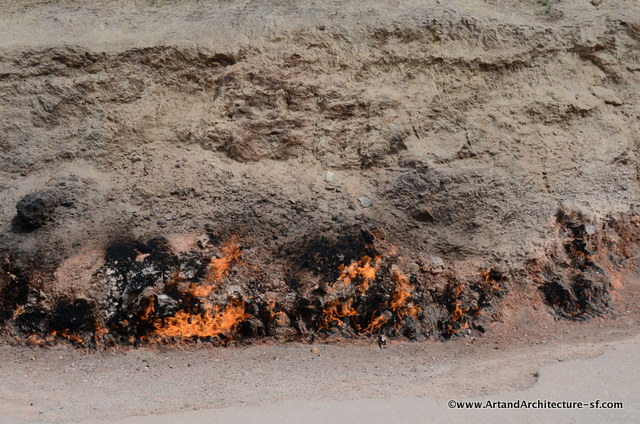 Eternal Fire in Azerbaijan