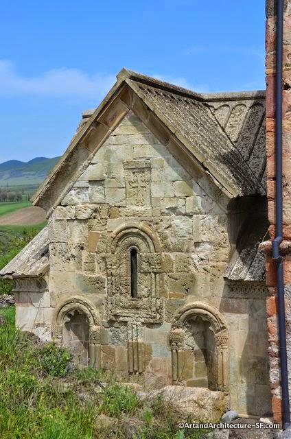 Georgian Countryside old Church ruins