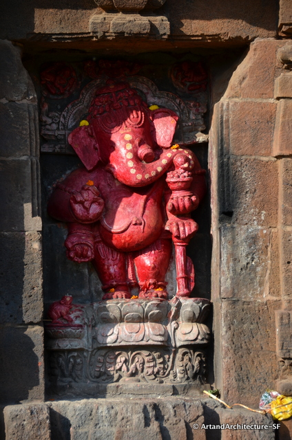 Ganesha at the Muketwewar Temple