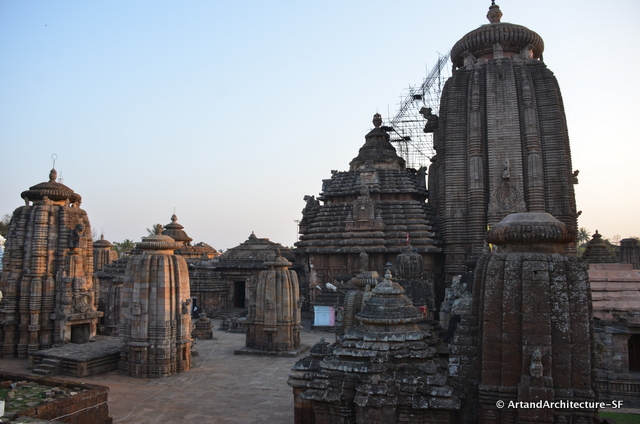 Only one small section of the Lingaraj Temple