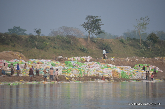Ganges Plastic Bags