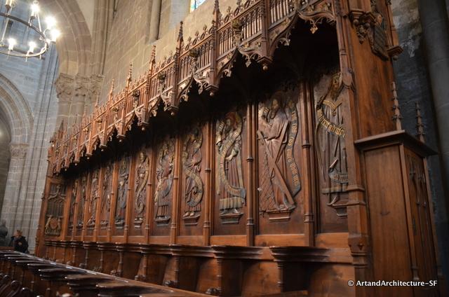 15th Century Choir Stalls in St.