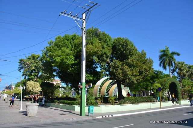 Jose Marti Park in Guantanamo City