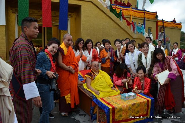 The Abbott of Bhutan