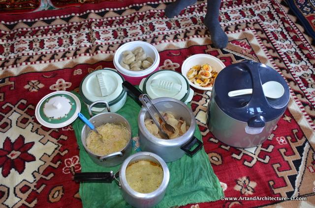 Lunch in Bhutan