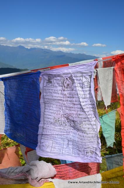 Lughdar Prayer flags of Bhutan