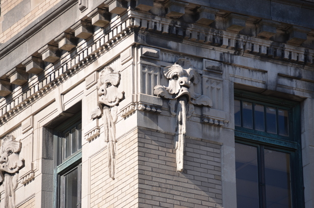 Ornamentation on the Water Building