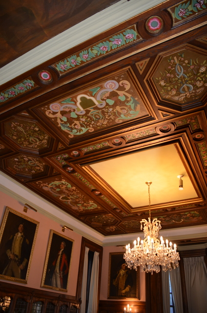 More of the Dining Room Ceiling
