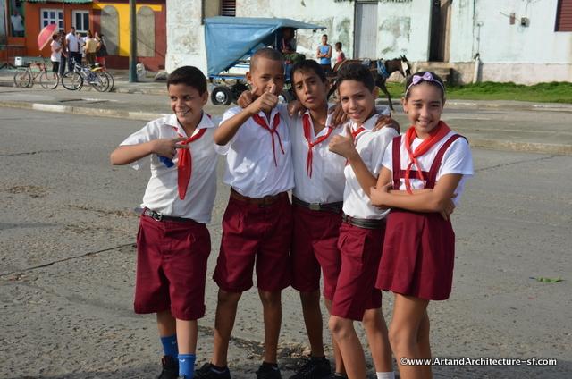 School Children in Cuba