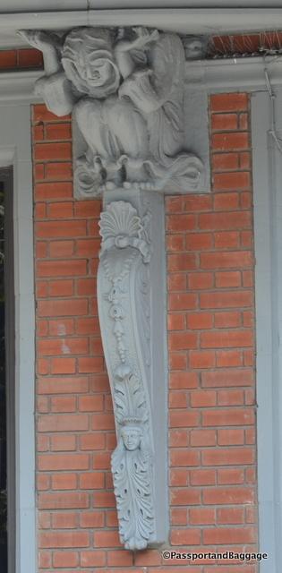 Building Ornamentation in Montreal Canada