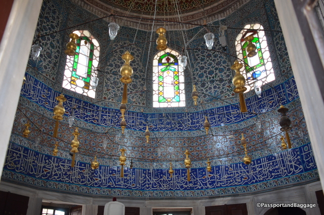 Tomb of Grand Vizier Ibrahim Pasha, son-in-law of Murat III, who died in 1601