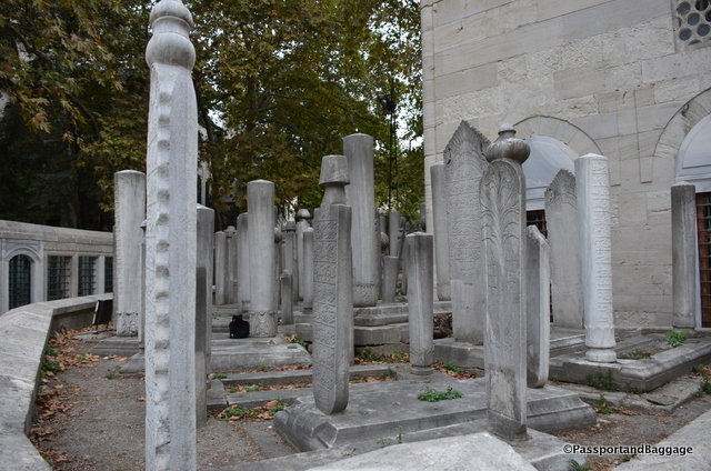 It is impossible to describe how many grave sights are in this area, they go on forever.