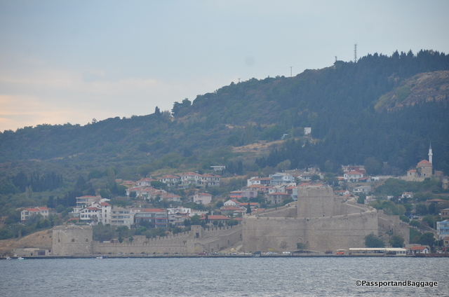 Directly across the Narrows of the Dardanelles, Çannakale Boğazi in Turkish, lies the magnificent fortress of Kilitbahir, the Lock of the Sea. Like Çimenlik Castle at Çanakkale, Kilitbahir was built by Sultan Mehmet II, the Conqueror, in 1452. The two fortresses guarded the Narrows from any fleet coming from Europe to assist Constantinople (Istanbul) then under siege by Mehmet.