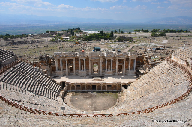 The theater is one of the more stunning spots in all of Hierophoy
